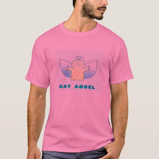Fat Kitten Angel T-Shirt