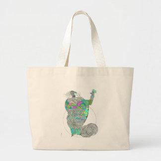 Fat Lady With A Fan Bag
