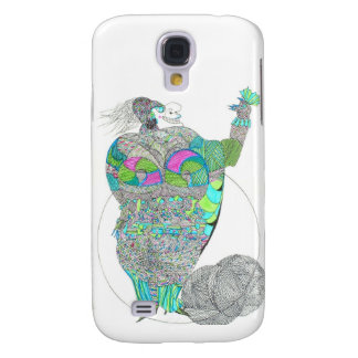 Fat Lady With A Fan Samsung Galaxy S4 Cover