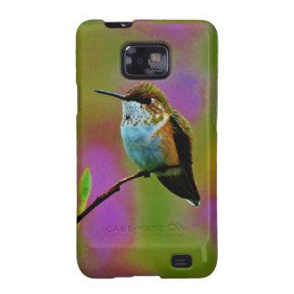 Fat little Hummingbird Samsung Galaxy SII Case