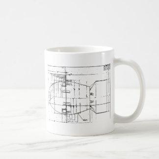 Fat Man atomic bomb Classic White Coffee Mug