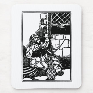 Fat Man of Bombay Limerick Mouse Pad