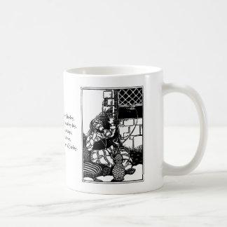 Fat Man of Bombay Limerick Classic White Coffee Mug