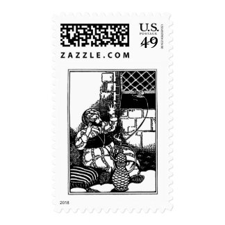 Fat Man of Bombay Limerick Stamps