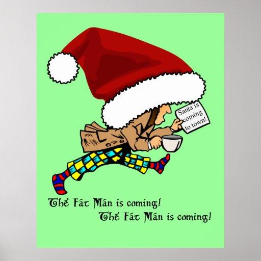 Fat Man (Santa) is Coming! Poster
