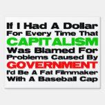 Fat Man With A Baseball Cap! Sign
