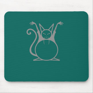 Fat Master Cat Mouse Pad