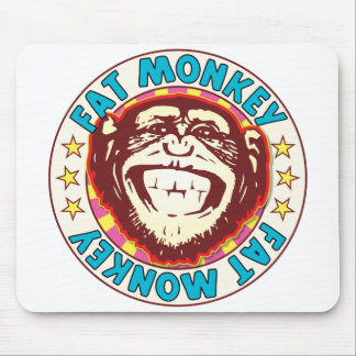 Fat Monkey Mouse Pad