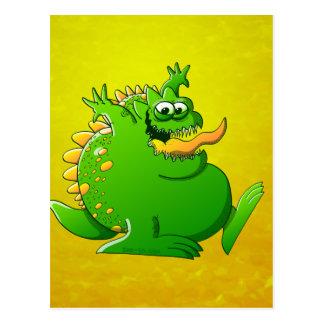 Fat Monster Postcard