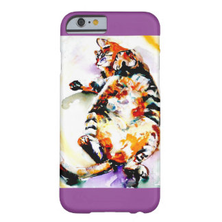 """""""Fat Napper"""" Cat Print Barely There iPhone 6 Case"""