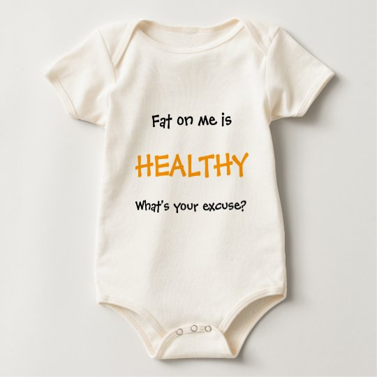 Fat On Me Baby Bodysuit
