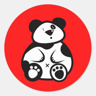 Fat Panda Bear Sticker
