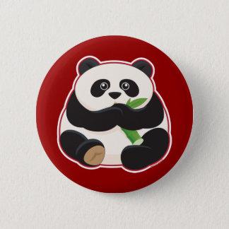 Fat Panda Pinback Button