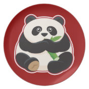 Fat Panda Plates