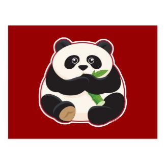 Fat Panda Postcard
