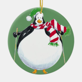 Fat Penguin ornament