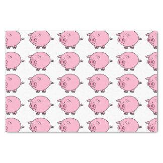 "Fat Pig 10"" X 15"" Tissue Paper"