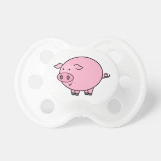 Fat Pig Cartoon Pacifier