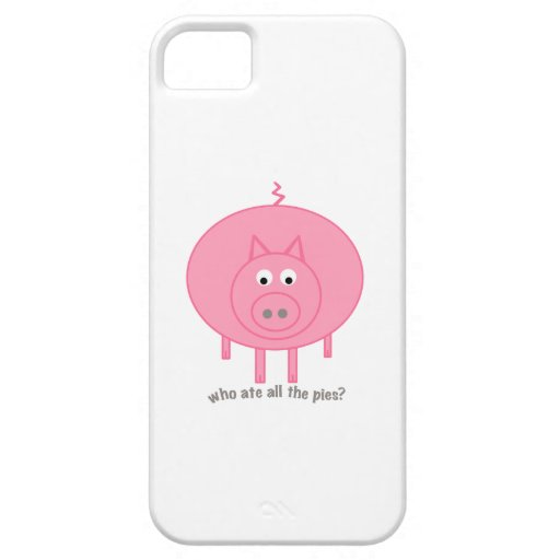 Fat Pig! iPhone 5 Cover