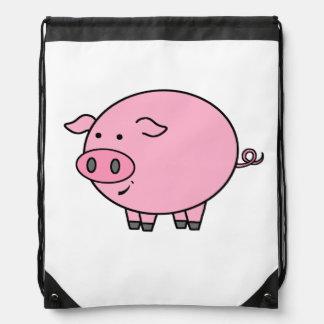 Fat Pig Cinch Bag