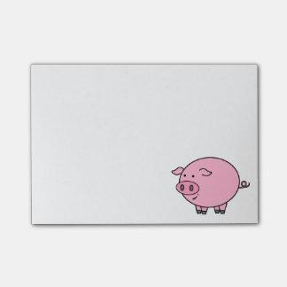 Fat Pig Post-it Notes