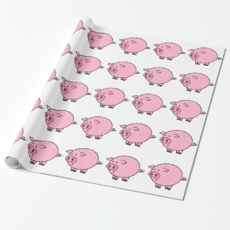 Fat Pig Wrapping Paper