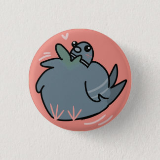 Fat Pigeon Button