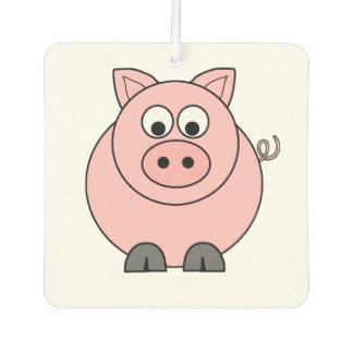 Fat Pink Pig Air Freshener