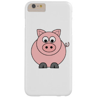 Fat Pink Pig Barely There iPhone 6 Plus Case