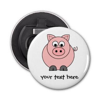 Fat Pink Pig Bottle Opener