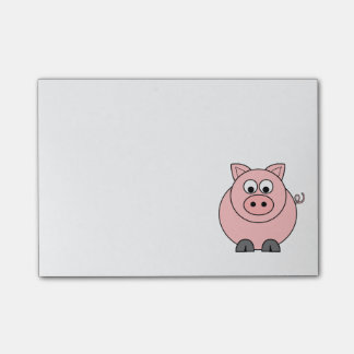 Fat Pink Pig Post-it® Notes