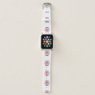 Fat Pink Pigs Apple Watch Band
