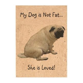 Fat Pug Cork Fabric