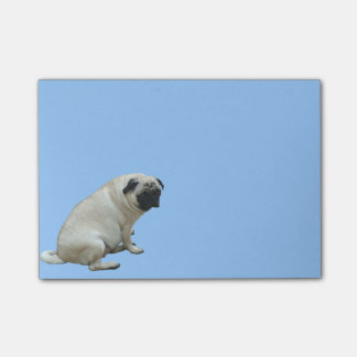 Fat Pug Post-it® Notes
