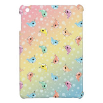 Fat Rainbow Narwhal Pattern Case For The iPad Mini