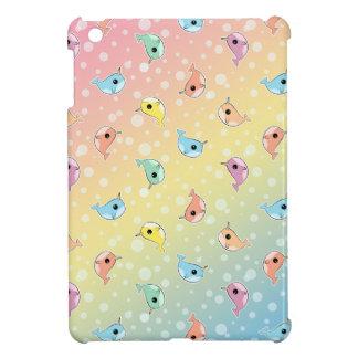 Fat Rainbow Narwhal Pattern iPad Mini Cover