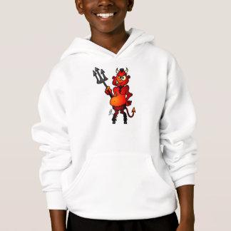 Fat red devil hoodie