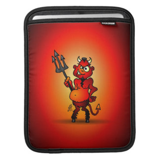 Fat red devil sleeve for iPads