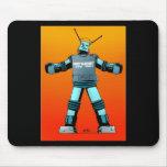 Fat Robot Bikini Party mouse pad