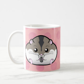 Fat Russian Dwarf Hamster Classic White Coffee Mug