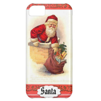 Fat Santa Christmas Phone Cover Case For iPhone 5C