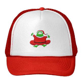 Fat Santa Frog Mesh Hat