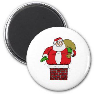 Fat Santa Refrigerator Magnets