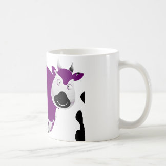 Fat Single Purple Cow Mug