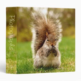 "Fat Squirrel 1.5"" Photo Album Vinyl Binder"