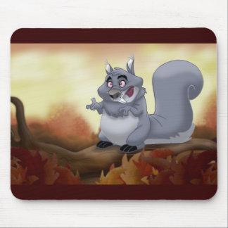 Fat Squirrel Mousepad
