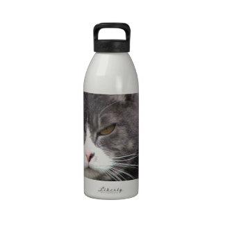 Fat Tabby GRUMPY  Reusable Water Bottle