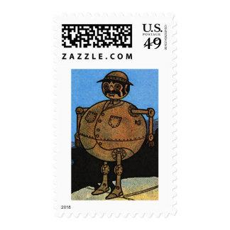 Fat Tin Man Stamp
