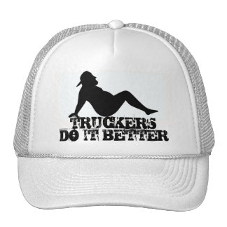 FAT TRUCKER HAT TRUCKERS DO IT BETTER