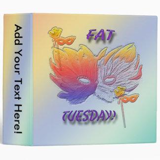 Fat Tuesday Mask Binder